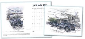 Classic Land Rover Calendar