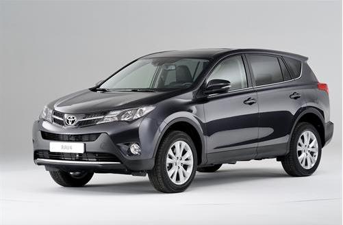 New Toyota RAV4 Unveiled