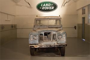 Bob Marley Land Rover
