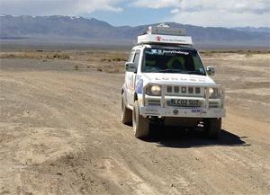 Jimnys in mongolia