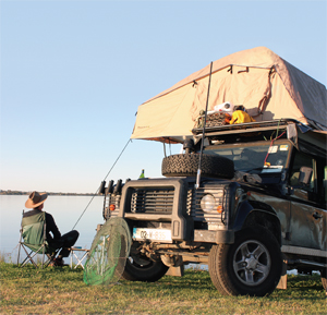 Camping with your 4x4