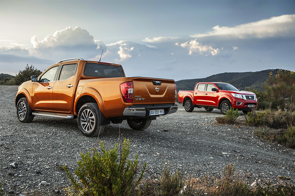 View large preview  The all-new Nissan NP300 Navara