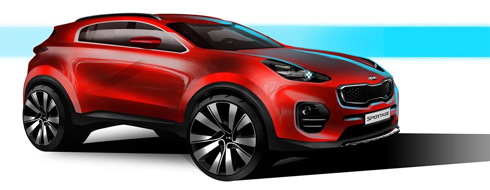 The next generation Kia Sportage