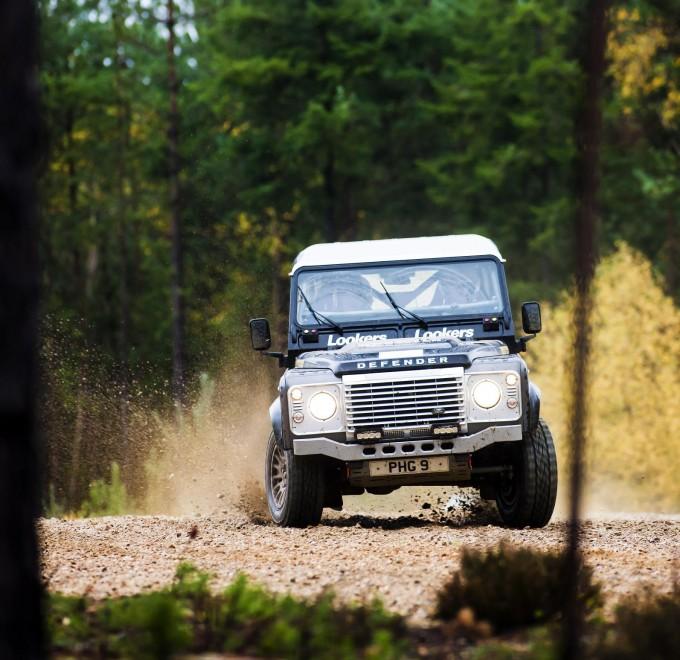Land Rover Defender Challenge 2015 – round 5