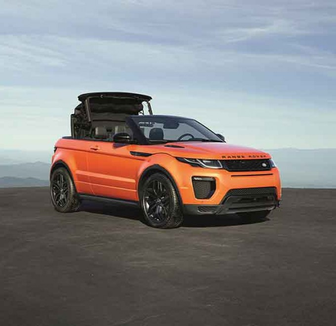 range rover evoque convertible 4x4 magazine. Black Bedroom Furniture Sets. Home Design Ideas