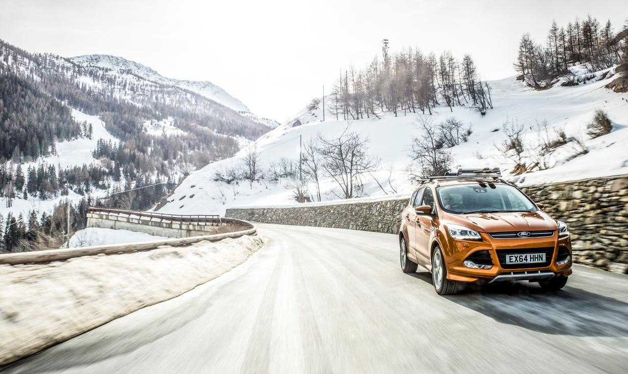 UK sales of the Kuga have increased by 35 per cent versus the same period in 2014