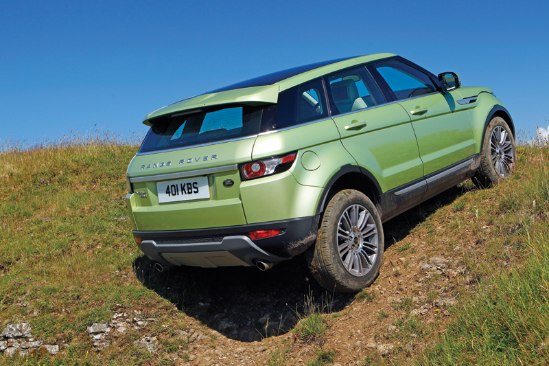 buying used range rover evoque 4x4 magazine. Black Bedroom Furniture Sets. Home Design Ideas