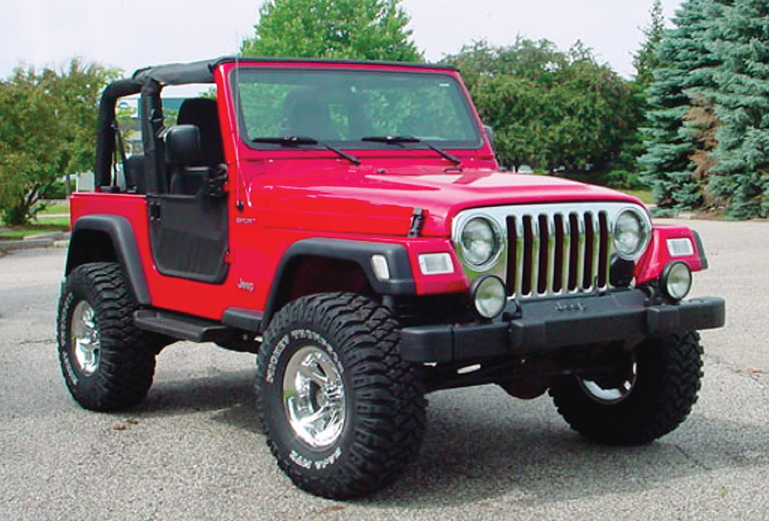 Buying Used Jeep Wrangler Tj 4x4 Magazine 2005 Suspension A Full Range Of Well Engineered Upgrades For The Including Most Basic Lifts Raising Body An Inch Above Chassis Makes Space