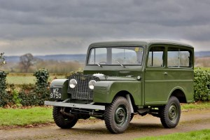 1950 Land Rover Series I Station Wagon Coachwork by Tickford HR