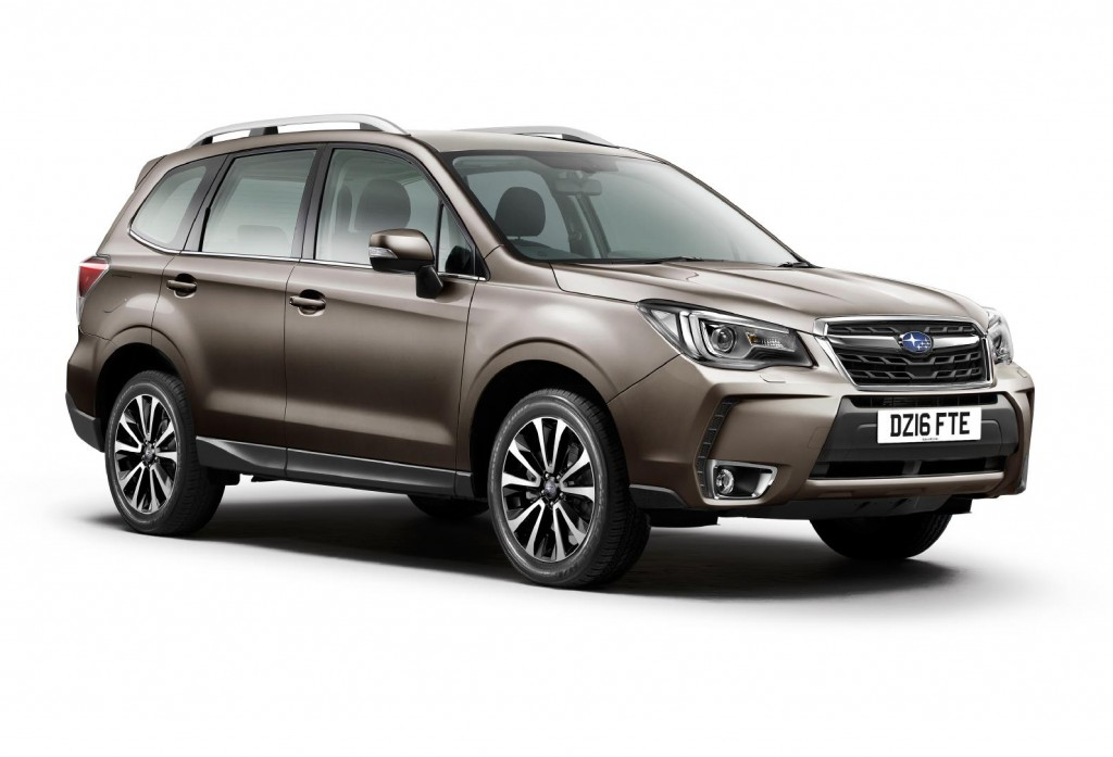 Forester 16MY upgrades image 1 - 29 Mar 2016