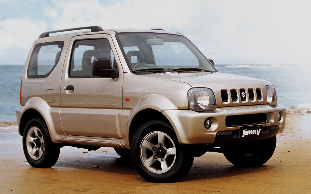 Suzuki Jimny Colours Available