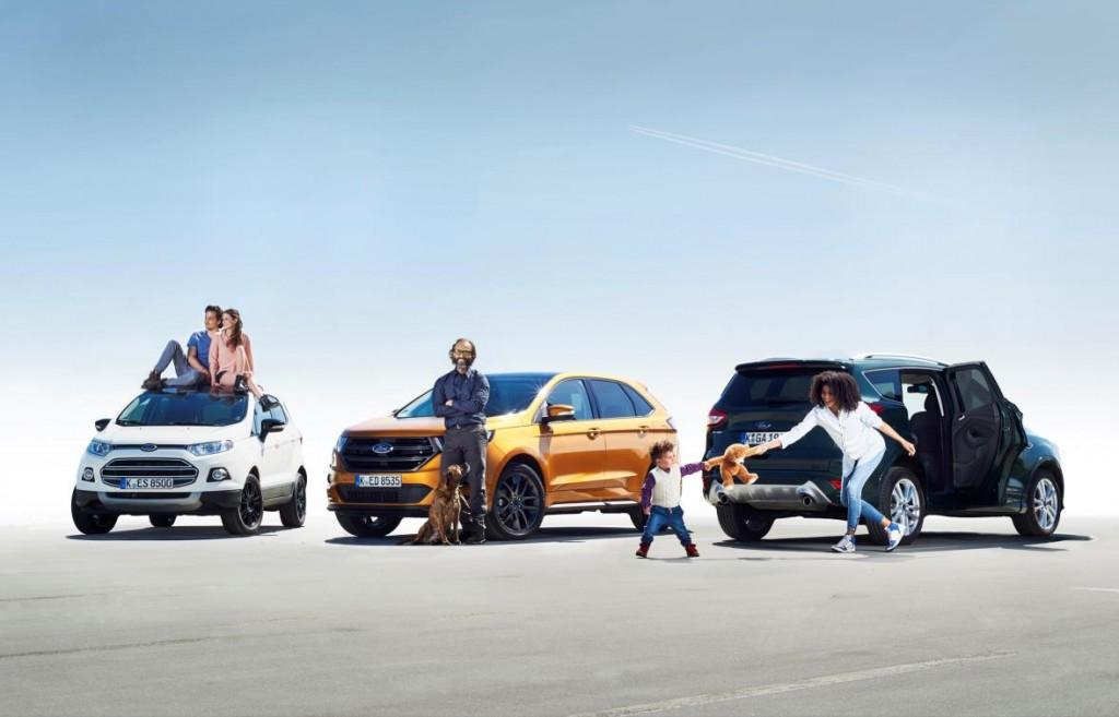 1 - Modern Mums Millennials and Quintastics Propel Ford to UKs Fastest-Growing SUV Brand
