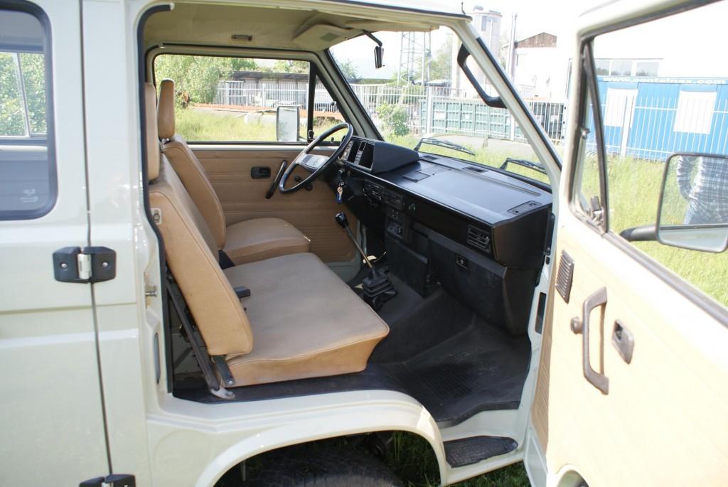 1989 Volkswagen T3 Doka Ex-Ferdinand Butzi Porsche interior