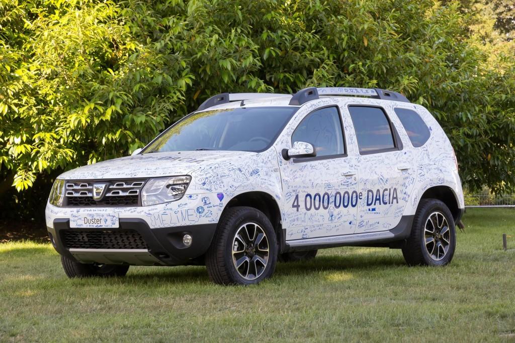 4,000,000 Dacia sold worldwide LEAD