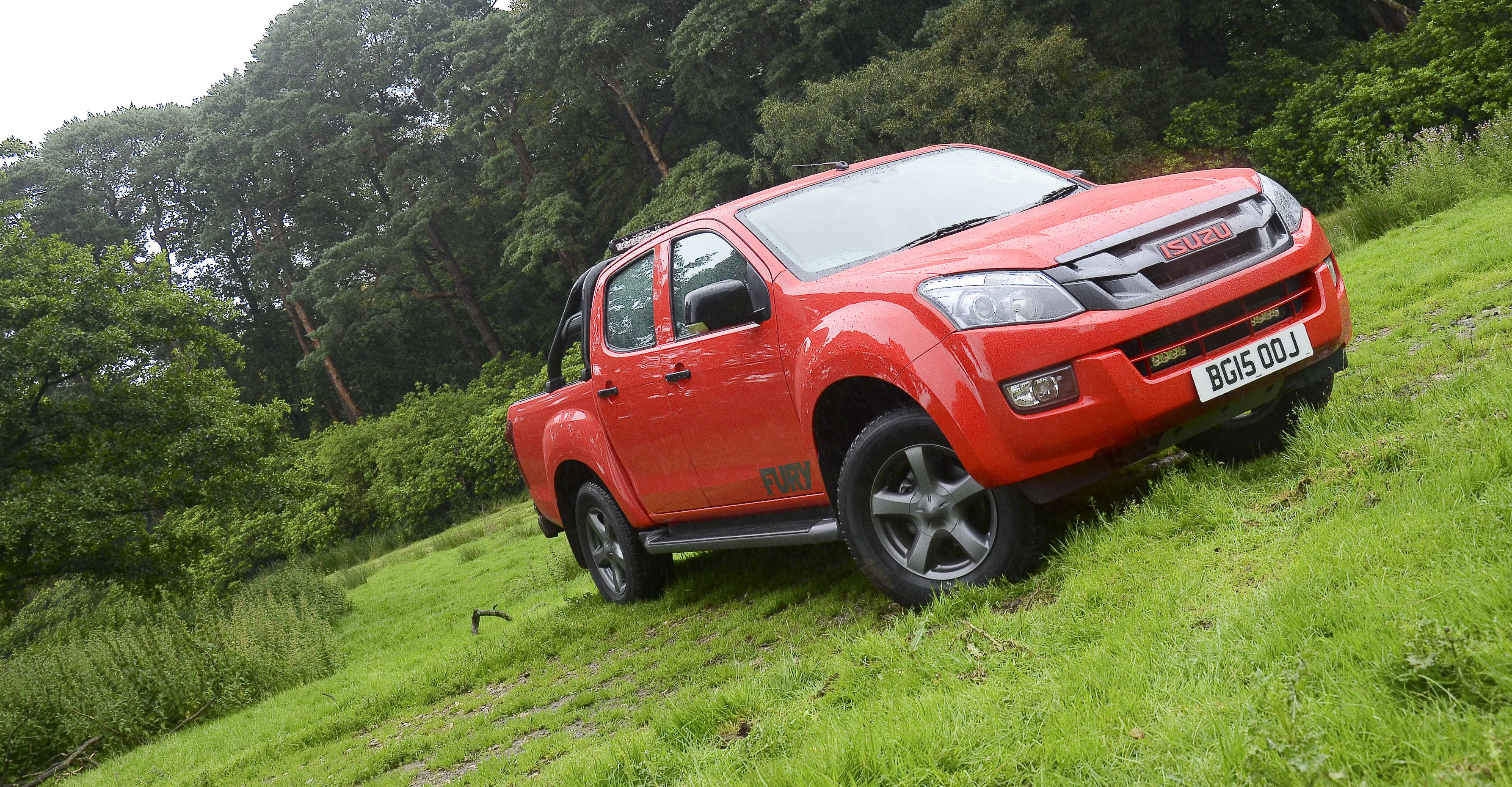 Isuzu's D-Max Fury is as in your face as it gets. Isuzu D-Max Fury-MY16. Image: Mark Stone