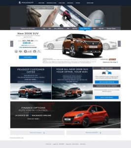 Peugeot Order Online