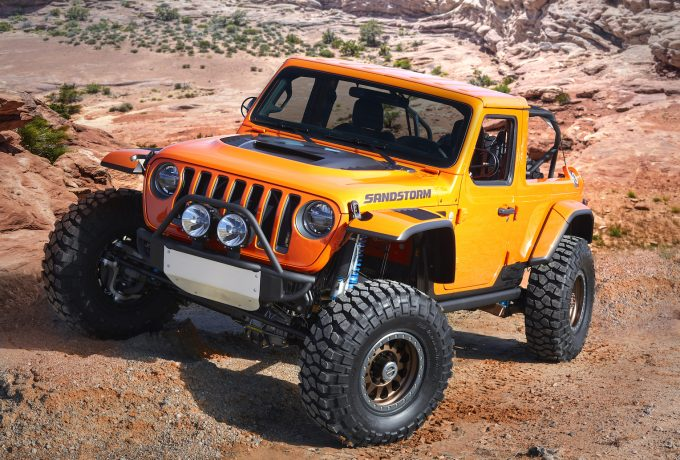 Jeep®  Sandstorm (formerly Desert Hawk) concept