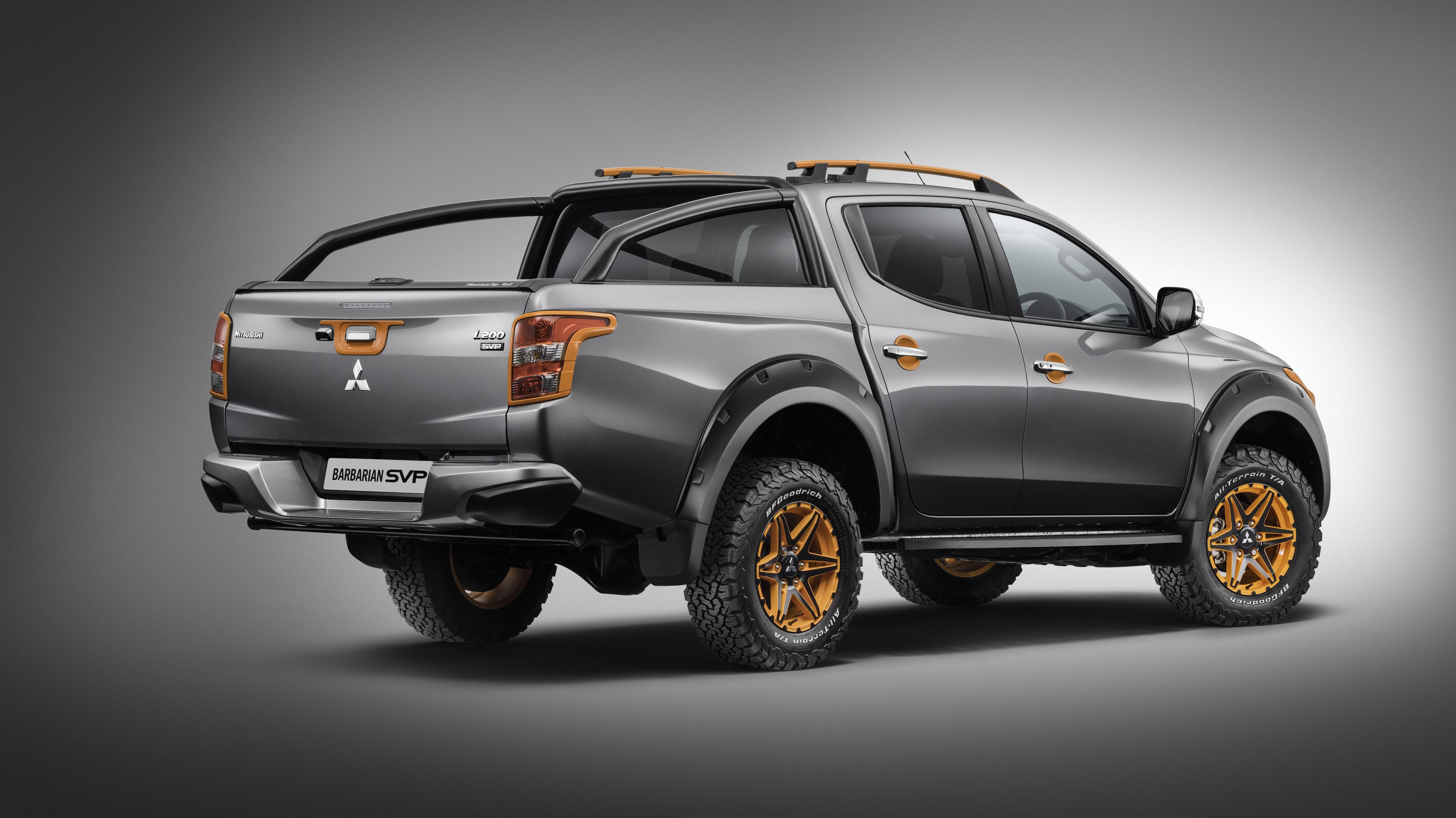 Mitsubishi Releases New Special Edition L200 Barbarian ...