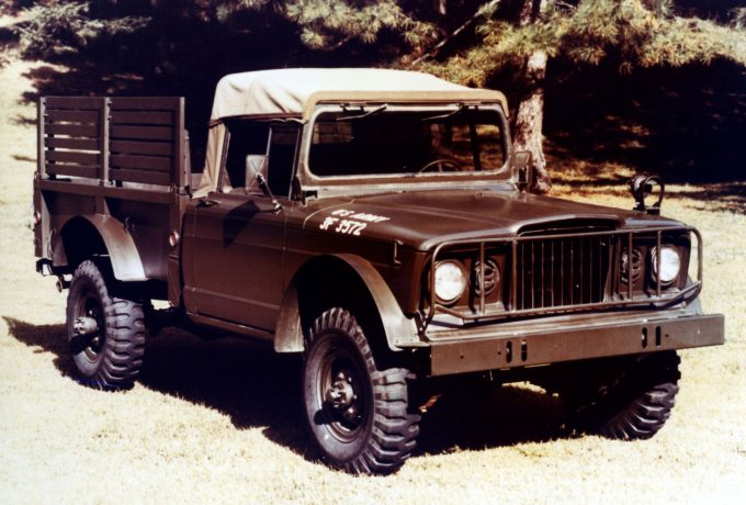 1967 M-715 Cargo Truck. The Jeep Nukizer 715 image vehicle pays