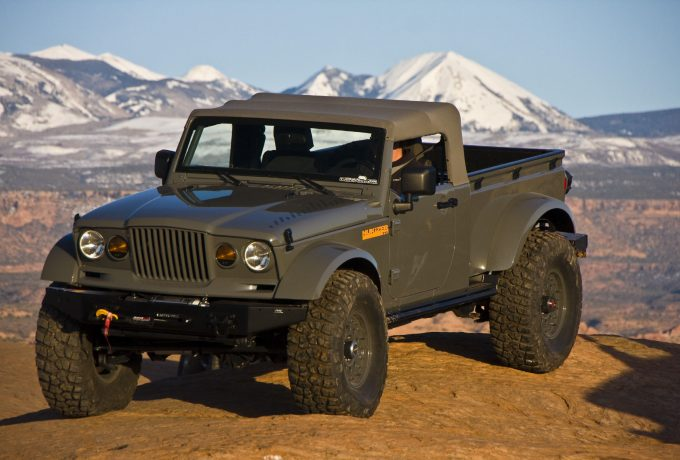 Mopar revealed the Jeep Nukizer 715 image vehicle at the 44th an