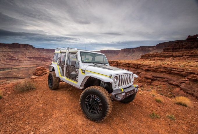 Jeep® Safari Concept at the 2017 Easter Jeep® Safari in Moab,