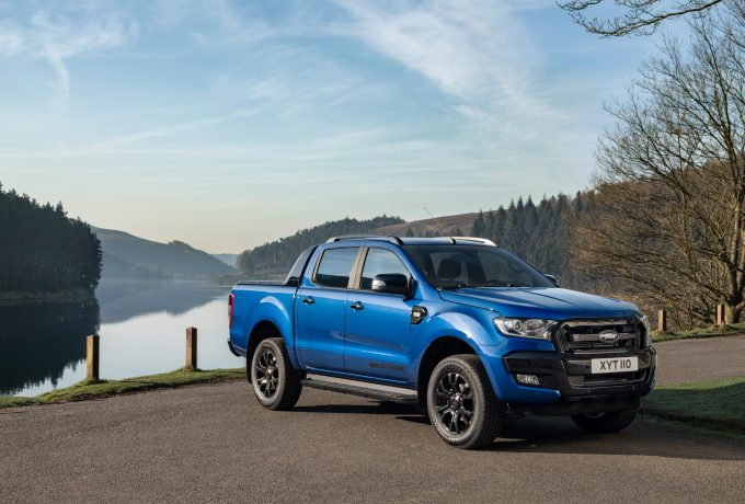 The new Ford Ranger Wildtrak X