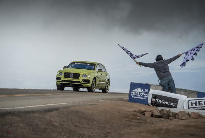 1 – Bentayga Pikes Peak – Finish Line