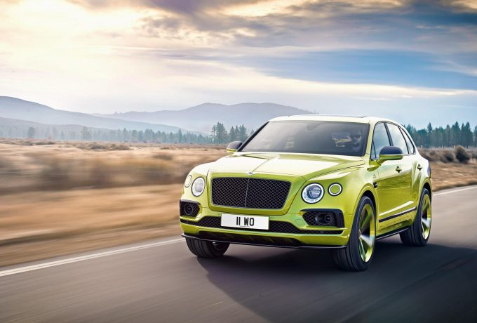 Bentayga Pikes Peak Limited Edition – Exterior Dynamic