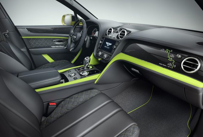 Bentayga Pikes Peak Limited Edition – Interior