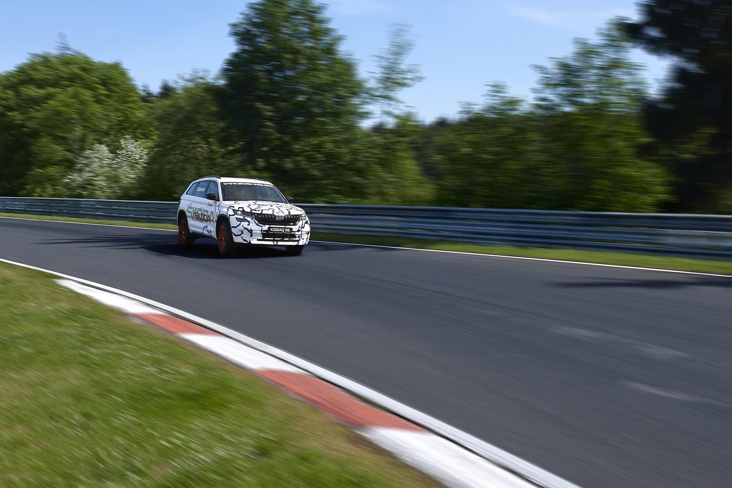 Skoda Kodiak vRS Sets 7-Seater Nurburgring Record | 4X4 Magazine