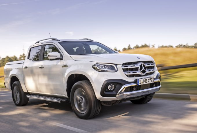 Mercedes-Benz X 350 d 4MATIC, 2018