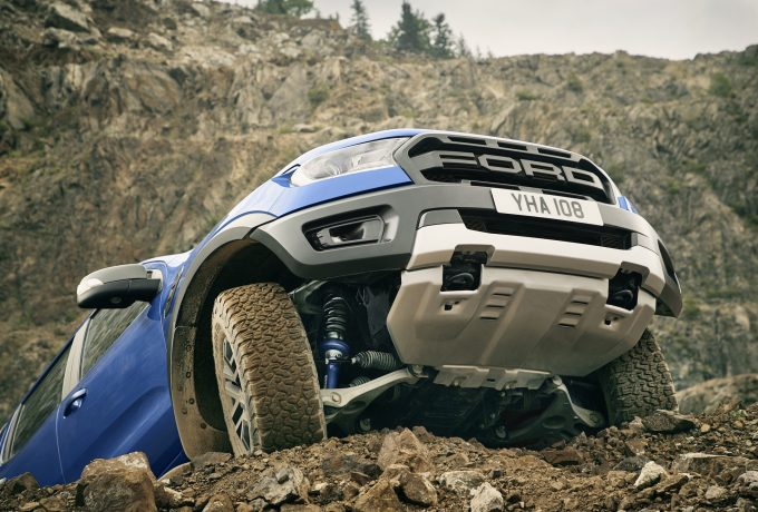 Ranger Raptor features unique underbody protection