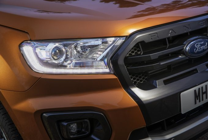 2019 Ford Ranger Wildtrak grile