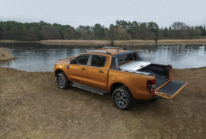 2019 Ford Ranger Wildtrak rear