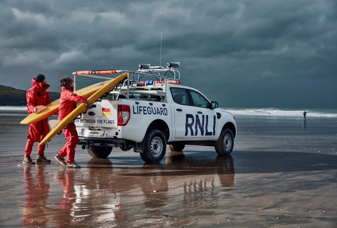Surf's up for RNLI's Fistral Beach rangers