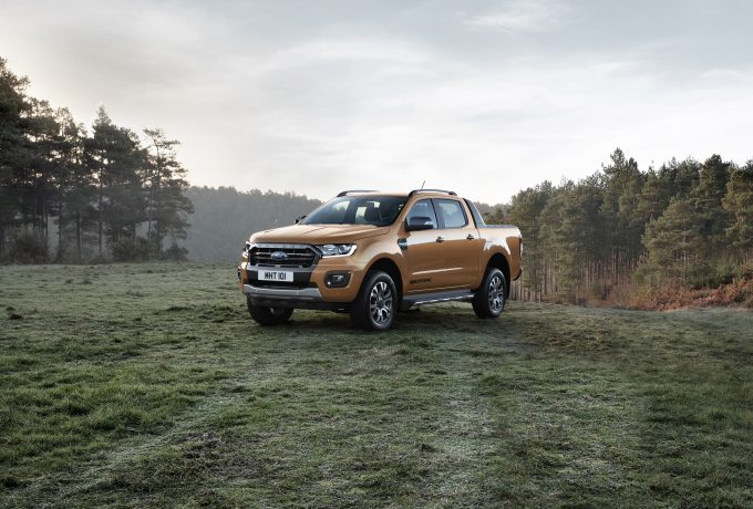 The new 2019 Ford Ranger Wildtrak